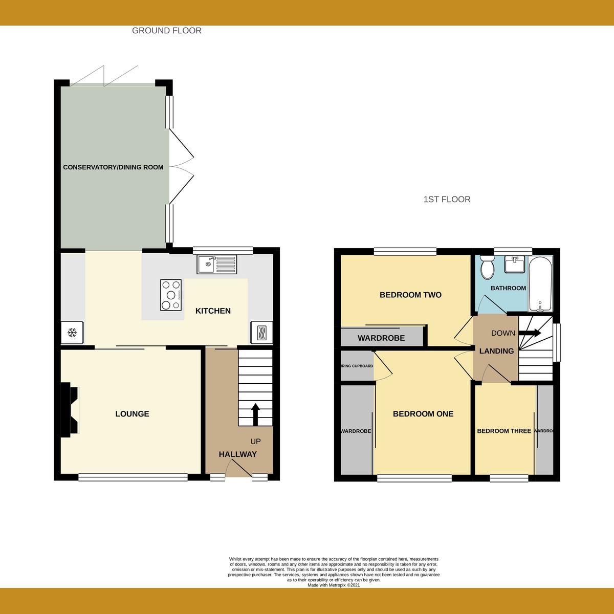 Floorplan 1 of Dandies Drive, Leigh-on-Sea, SS9