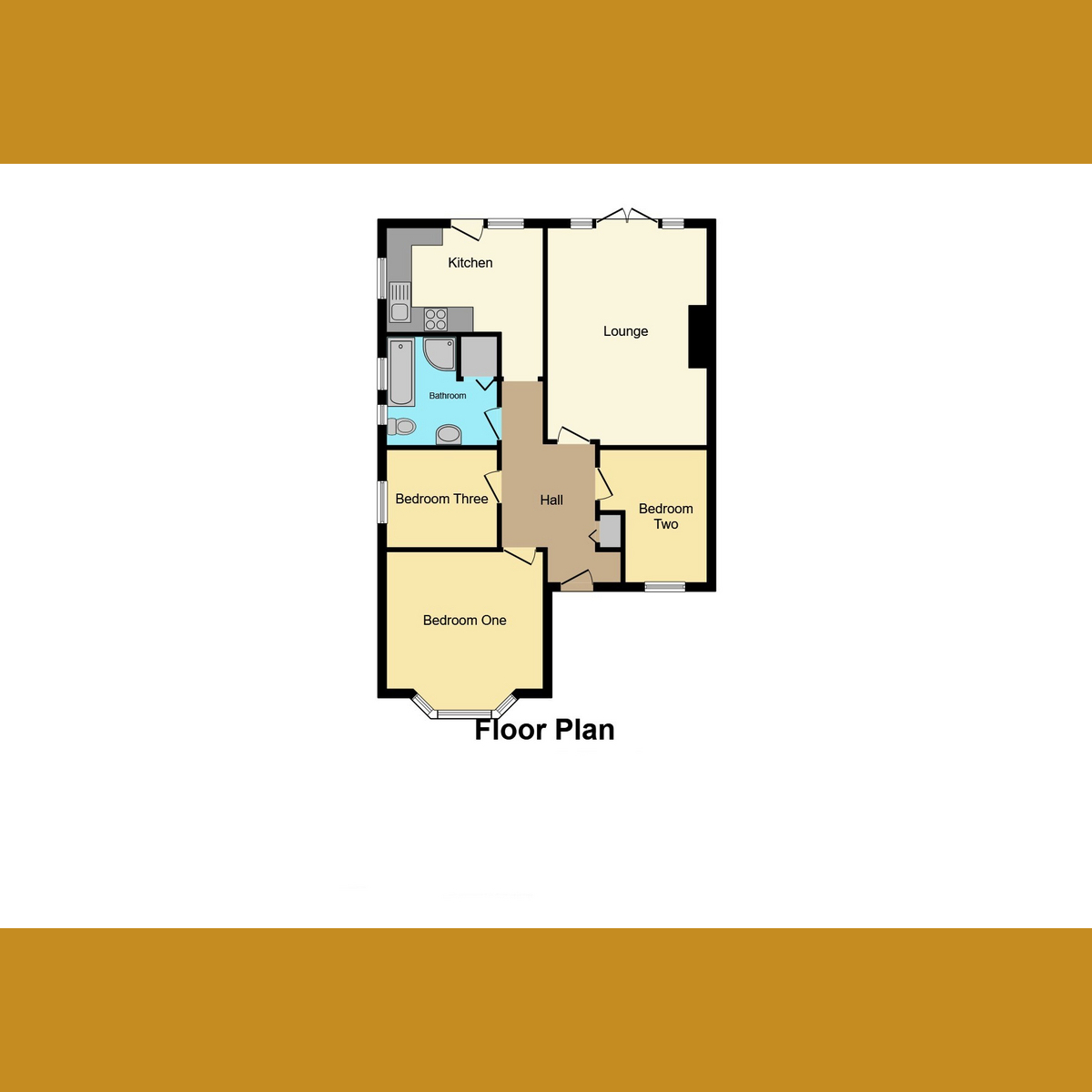 Floorplan 1 of Poplar Road, Rayleigh, SS6