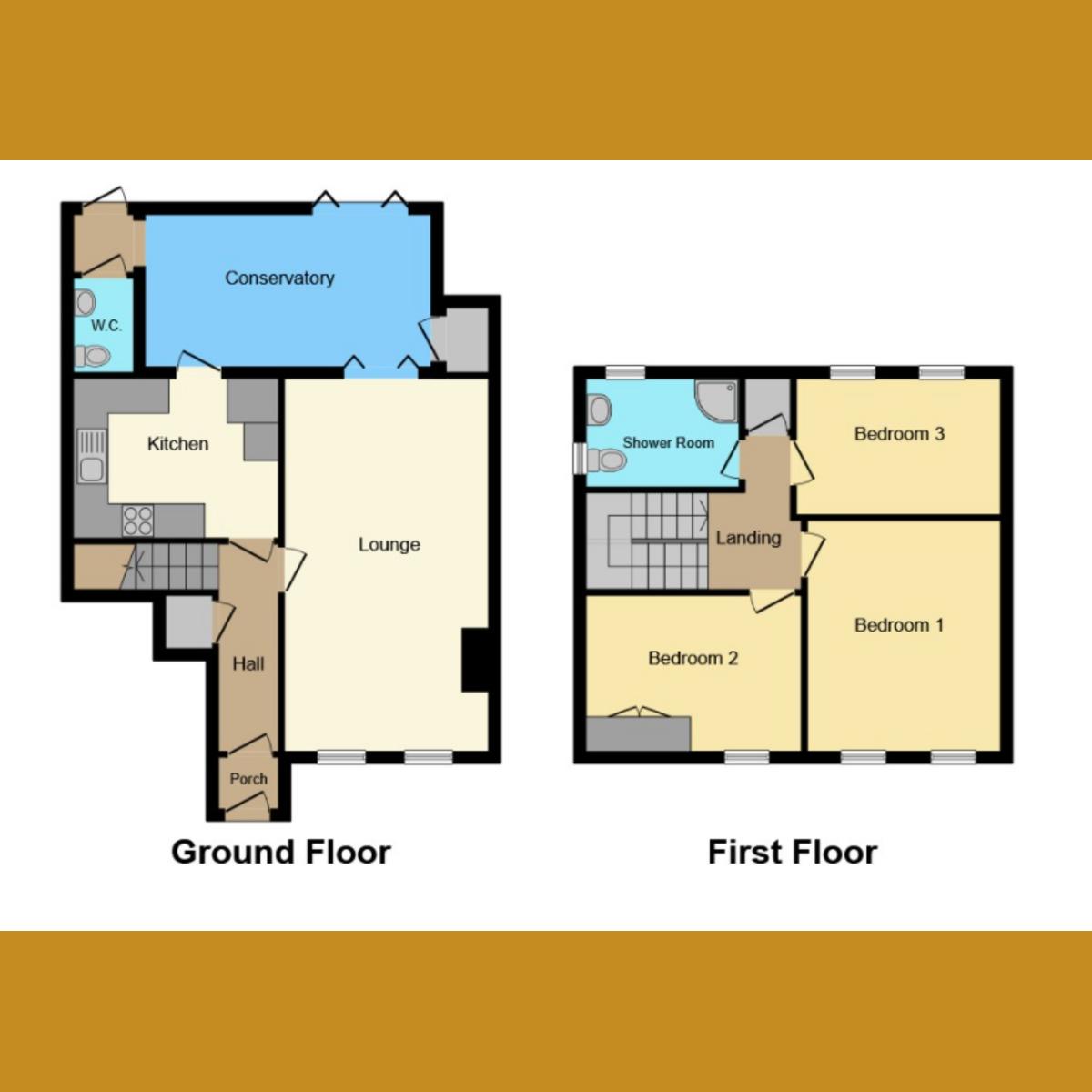 Floorplan 1 of Coombewood Drive, Benfleet, SS7