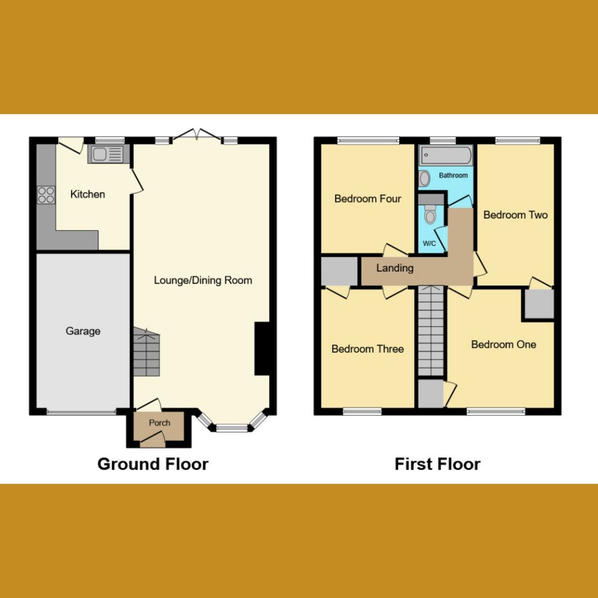 Floorplan 1 of Swallow Drive, Benfleet, SS7