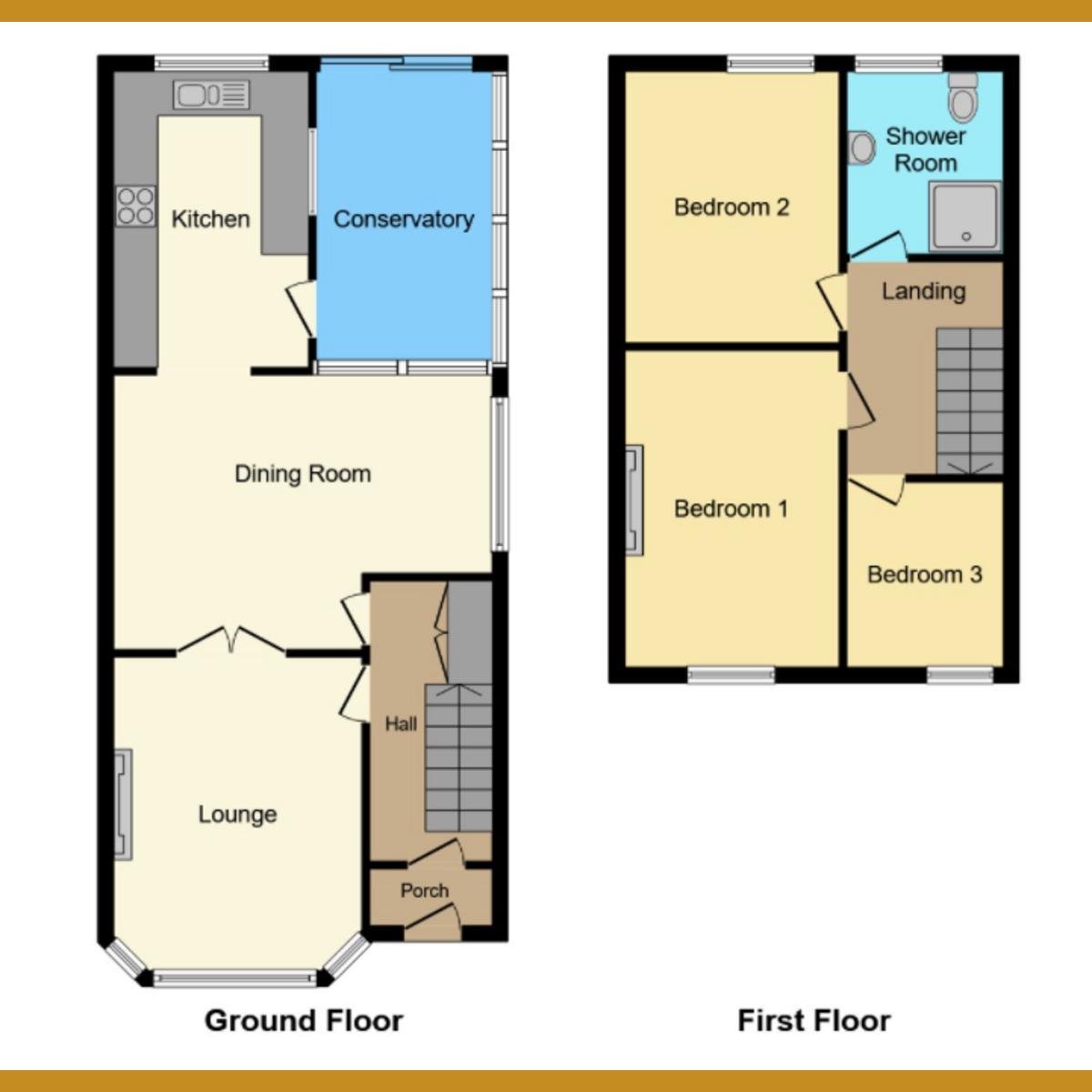 Floorplan 1 of Beaufort Street, Southend-on-sea, SS2