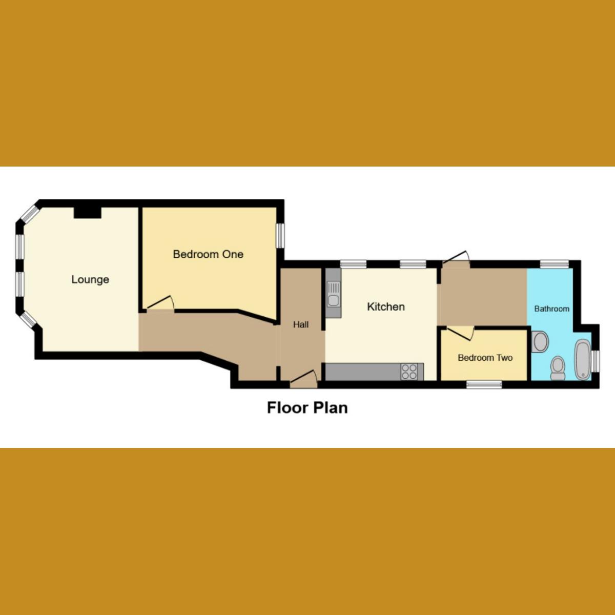 Floorplan 1 of Park Street, Westcliff-on-sea, SS0