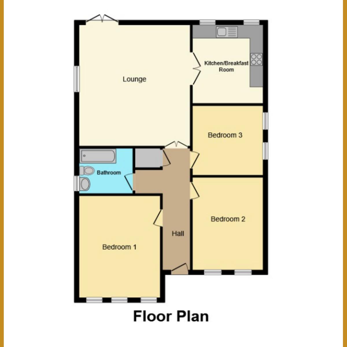 Floorplan 1 of Anchor Lane, Rochford, SS4