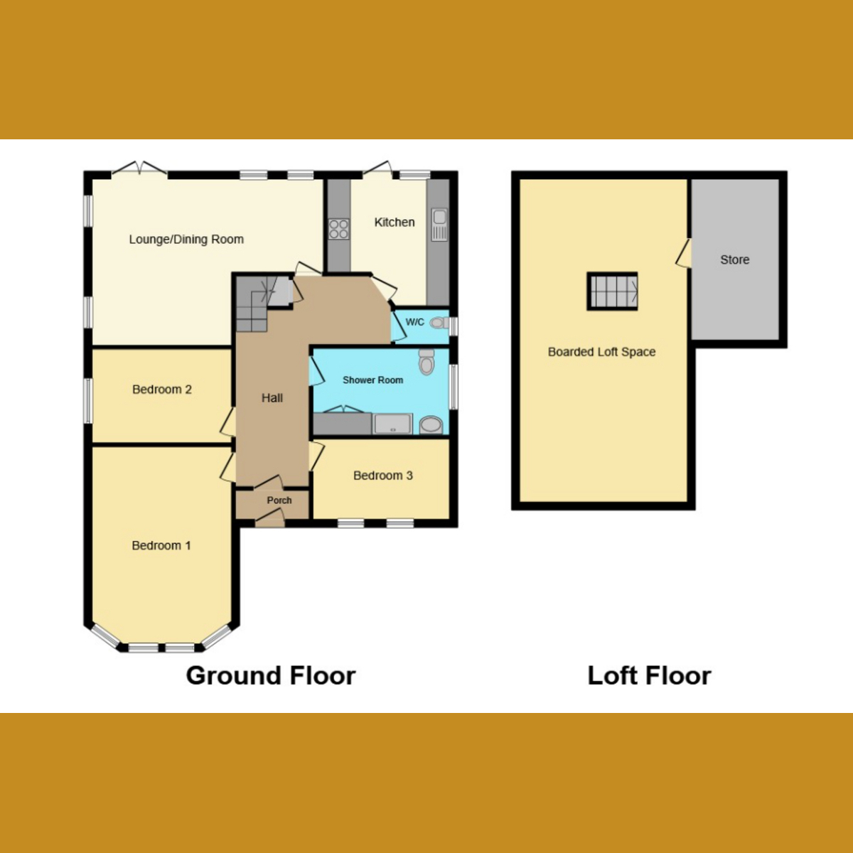 Floorplan 1 of Bridgwater Drive, Westcliff-on-sea, SS0