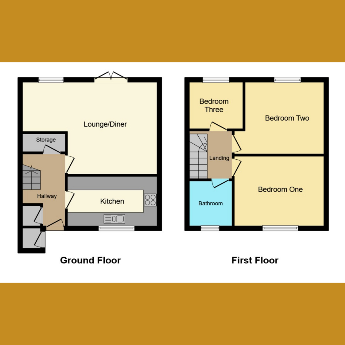 Floorplan 1 of Lincoln Way, Rayleigh, SS6