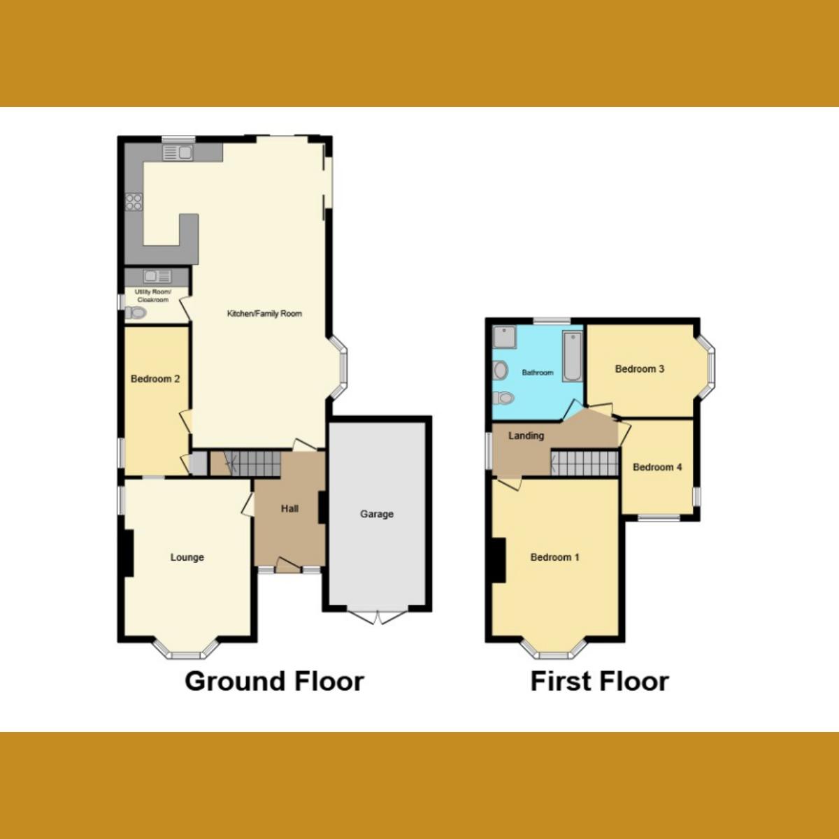 Floorplan 1 of Darlinghurst Grove, Leigh-on-sea, SS9