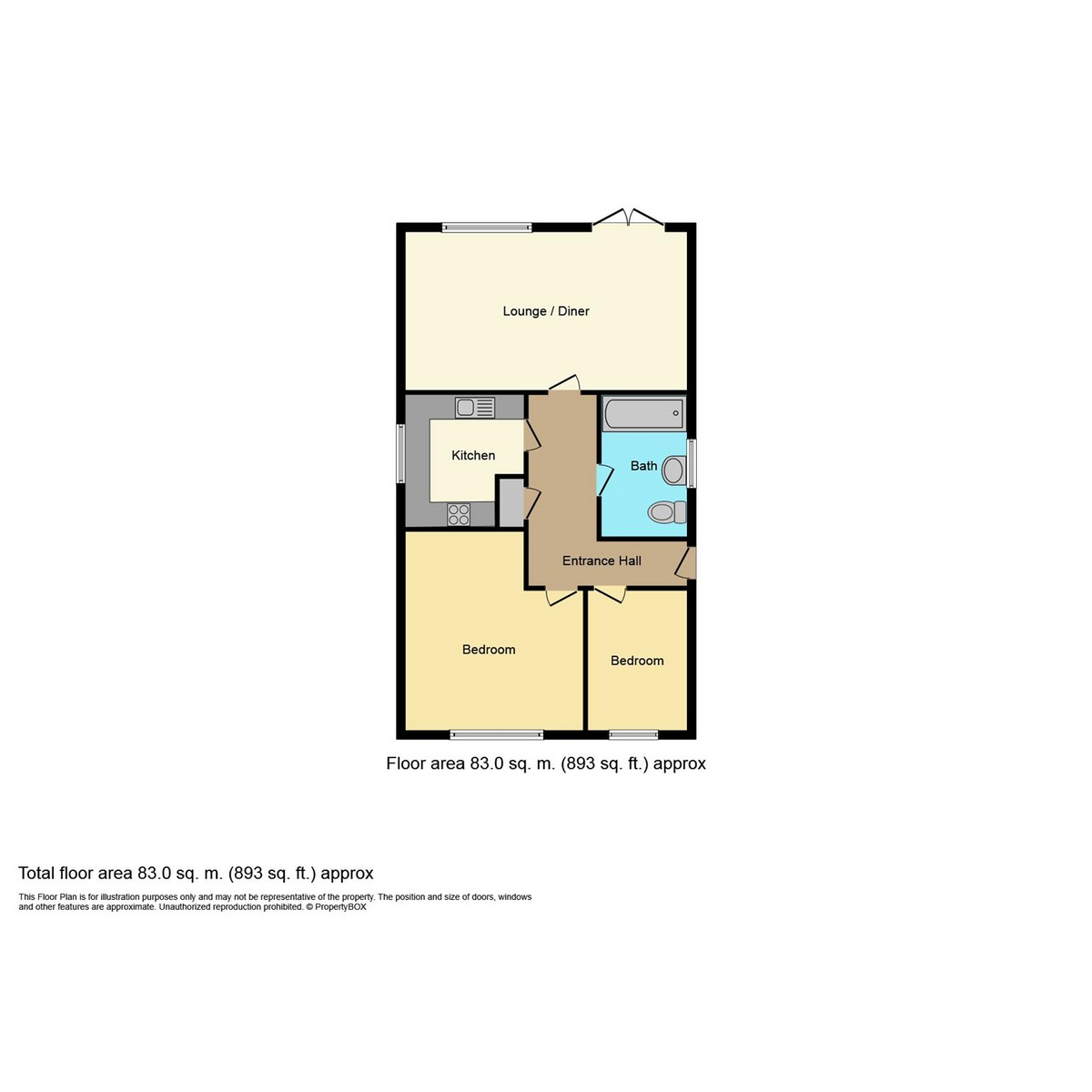 Floorplan 1 of Bellevue Mews, Southend-on-sea, SS2