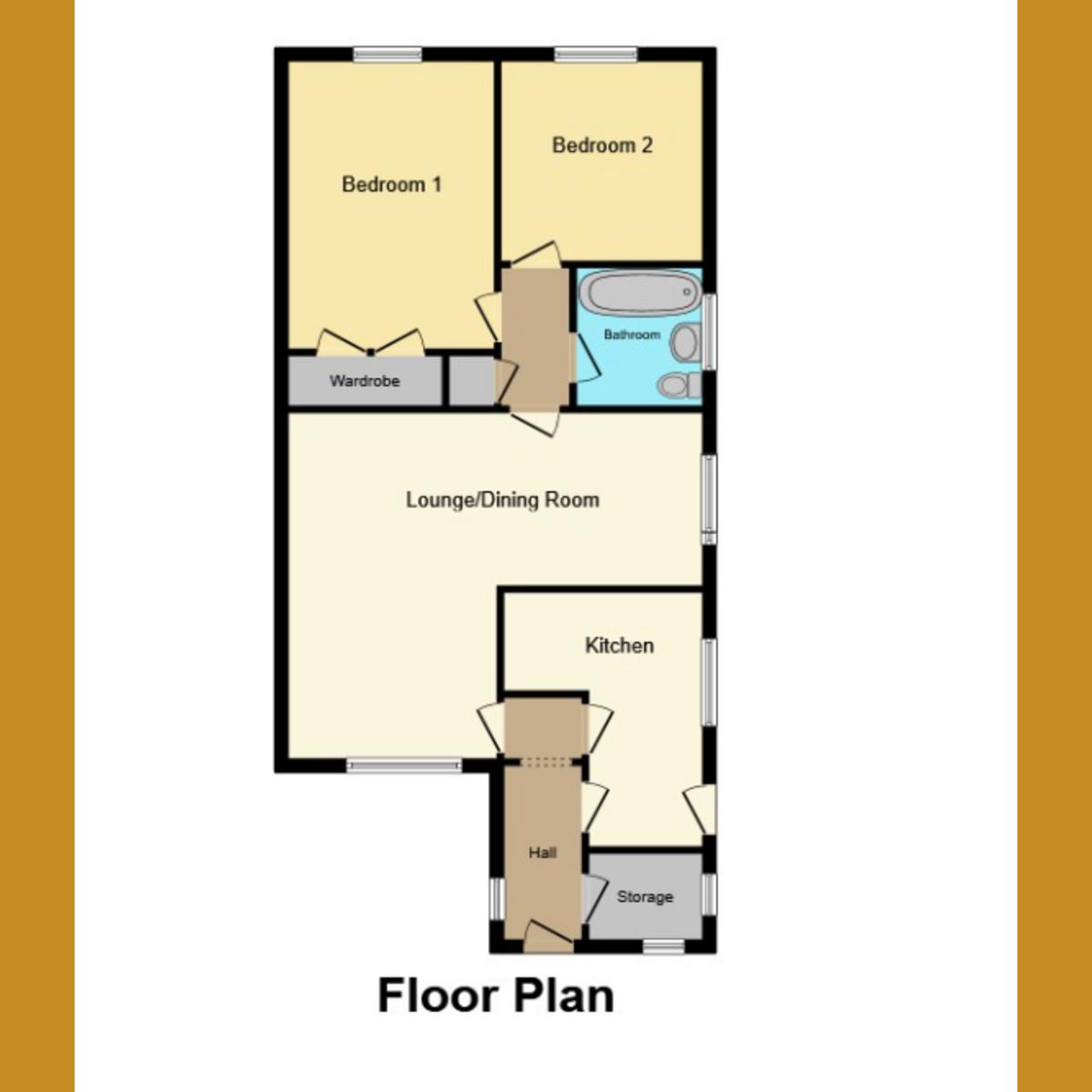 Floorplan 1 of Essex Way, Benfleet, SS7