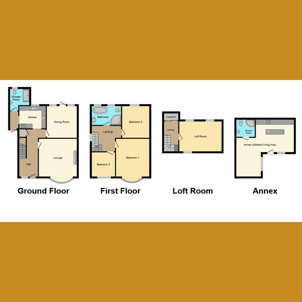 Floorplan 1 of Woodgrange Drive, Southend-on-sea, SS1
