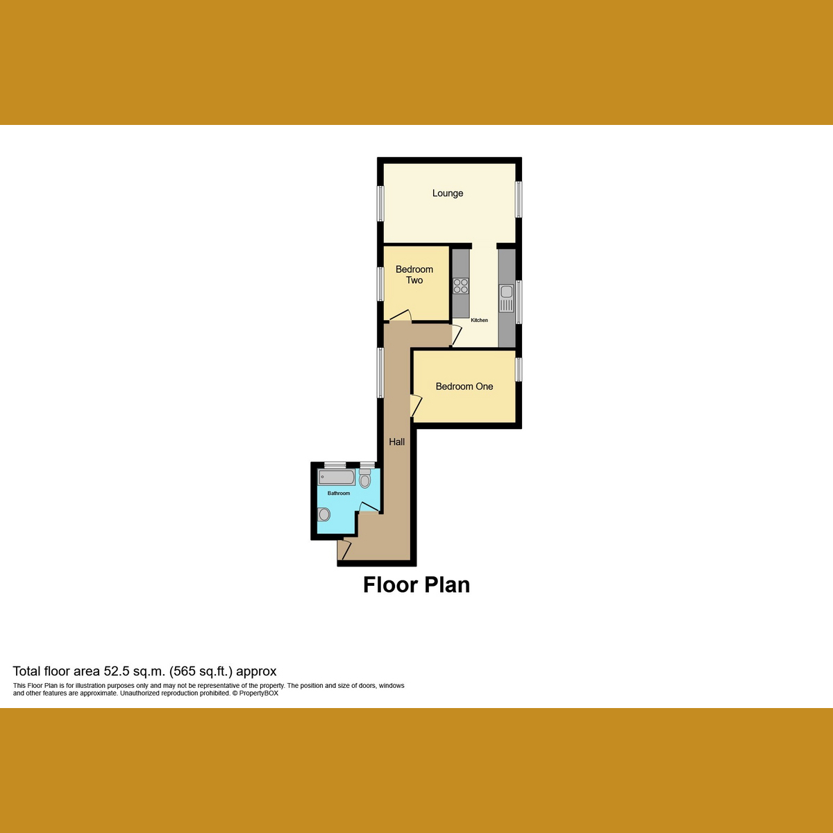 Floorplan 1 of Kiln Road, Benfleet, SS7