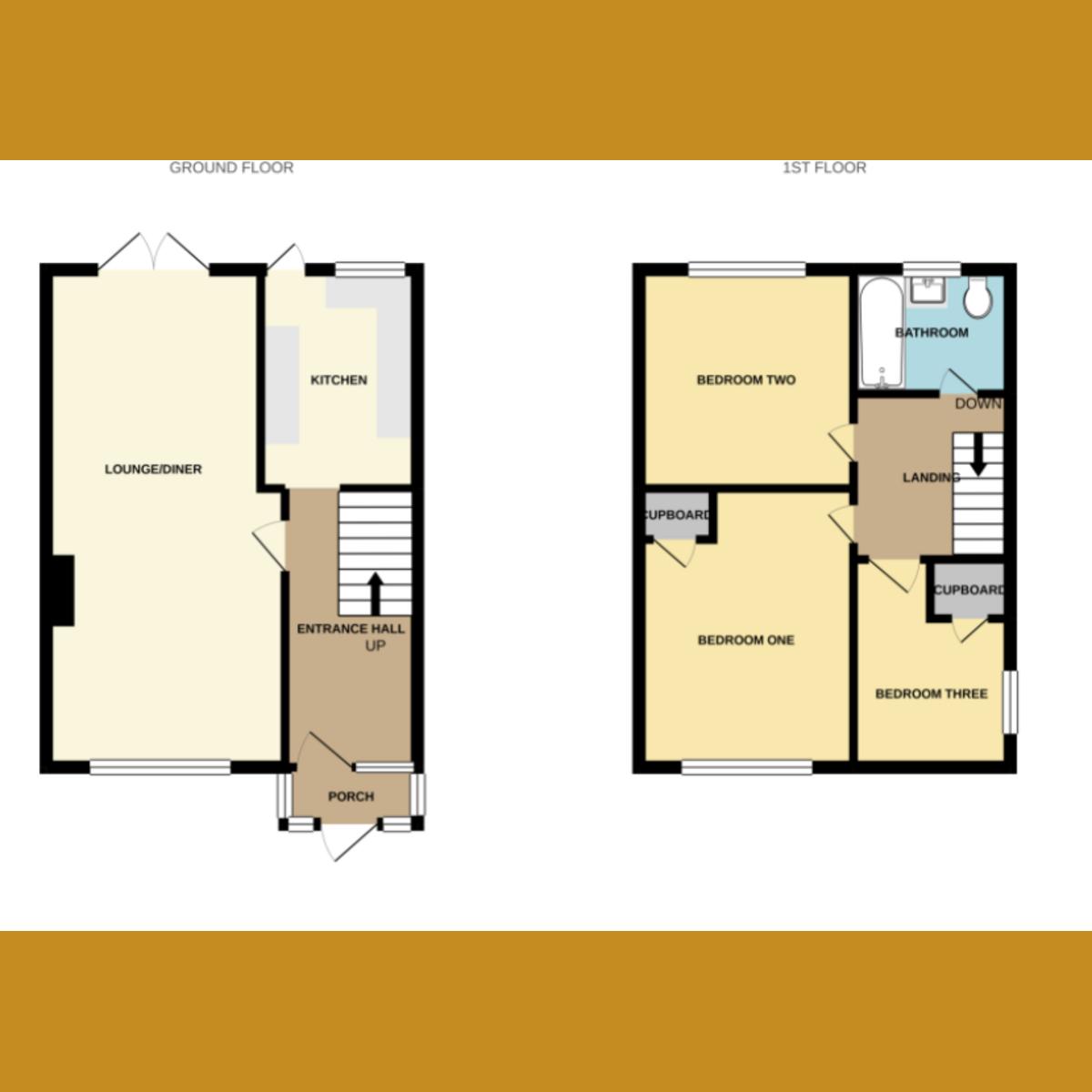 Floorplan 1 of Butneys, Basildon, SS14