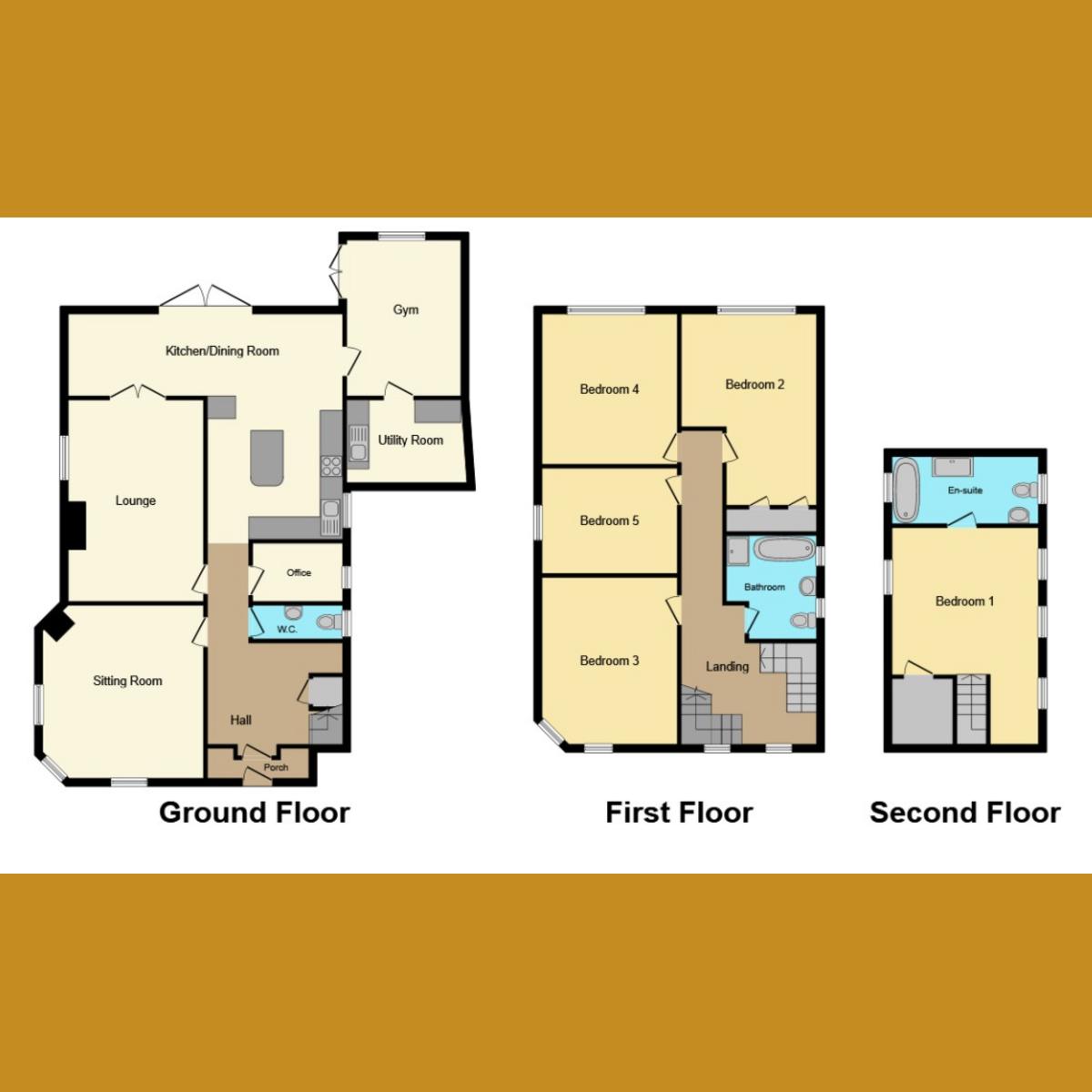 Floorplan 1 of Templewood Road, Benfleet, SS7