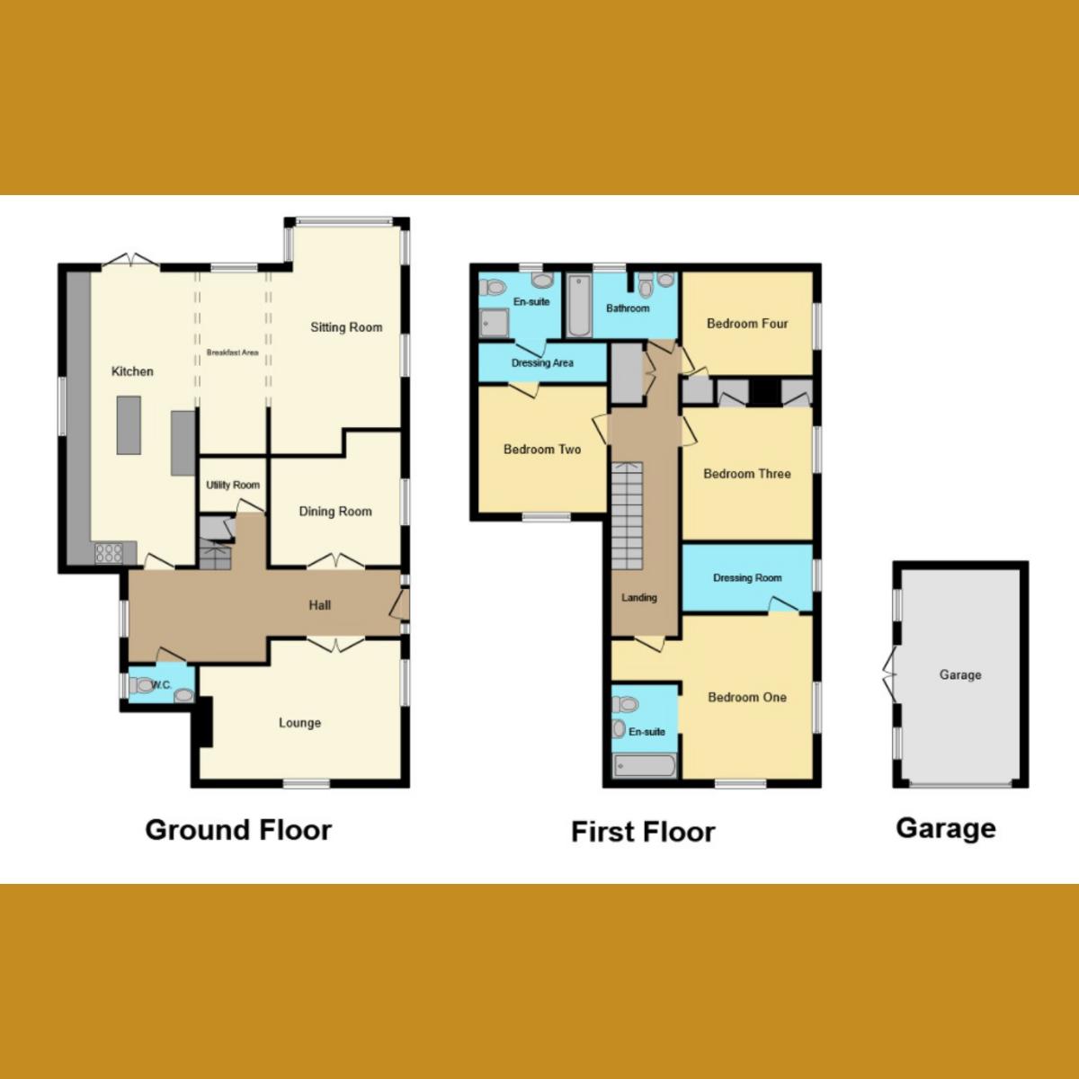Floorplan 1 of Eastern Road, Rayleigh, SS6
