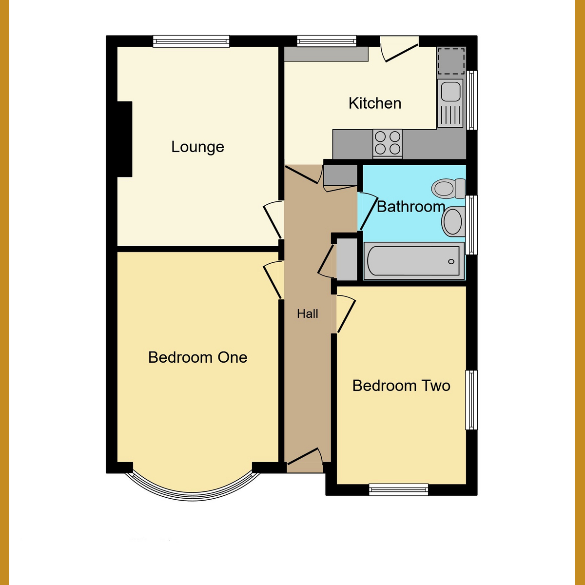 Floorplan 1 of Chesterfield Crescent, Leigh-on-sea, SS9