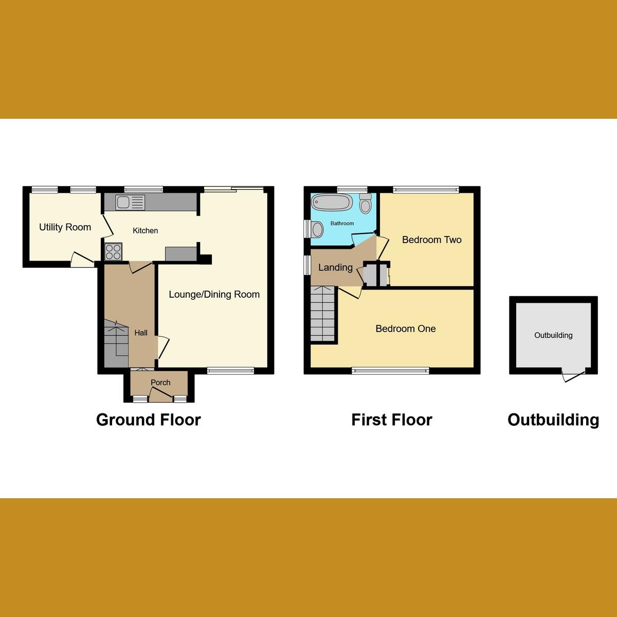 Floorplan 1 of Prince Avenue, Westcliff-on-sea, SS0