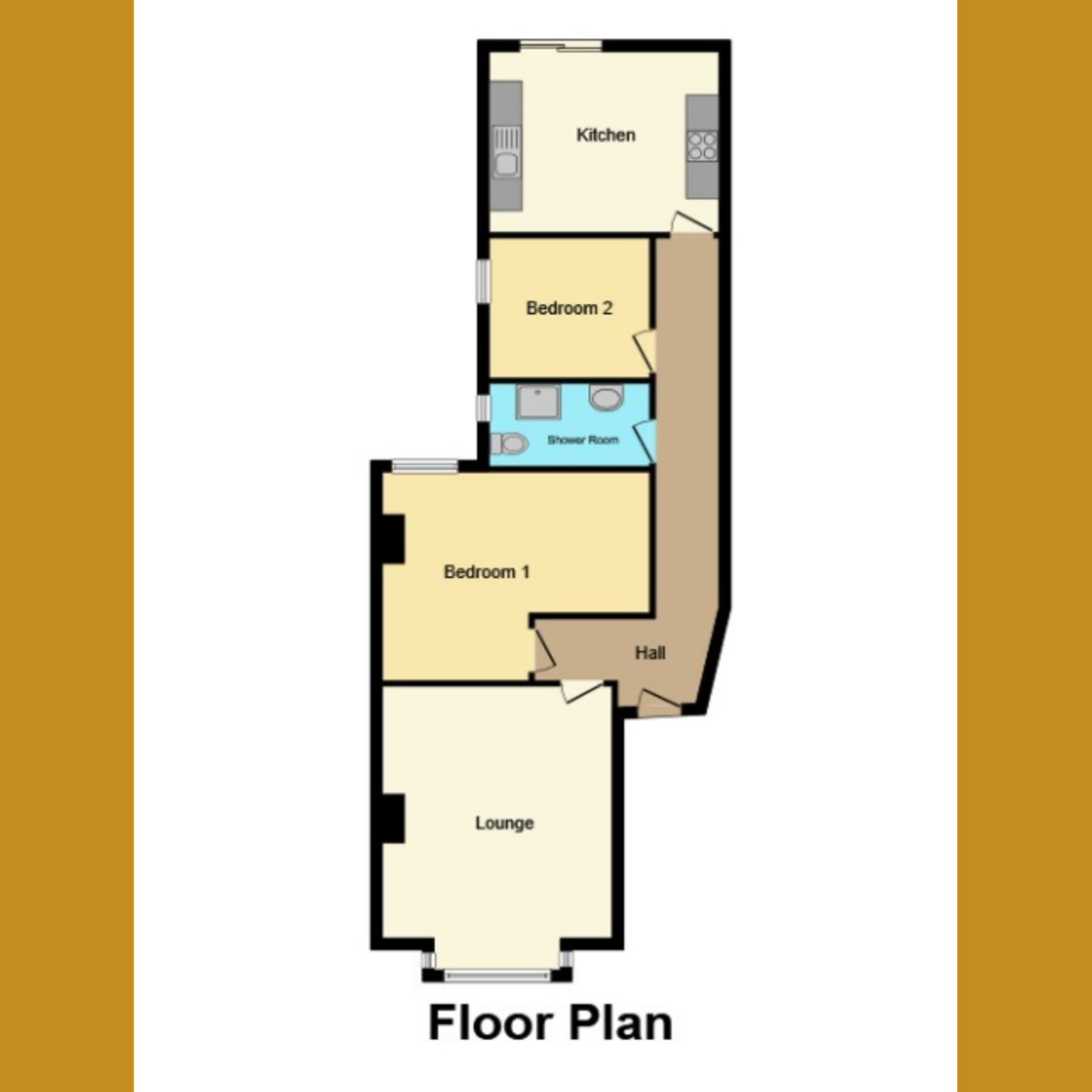 Floorplan 1 of Christchurch Road, Southend-on-sea, SS2