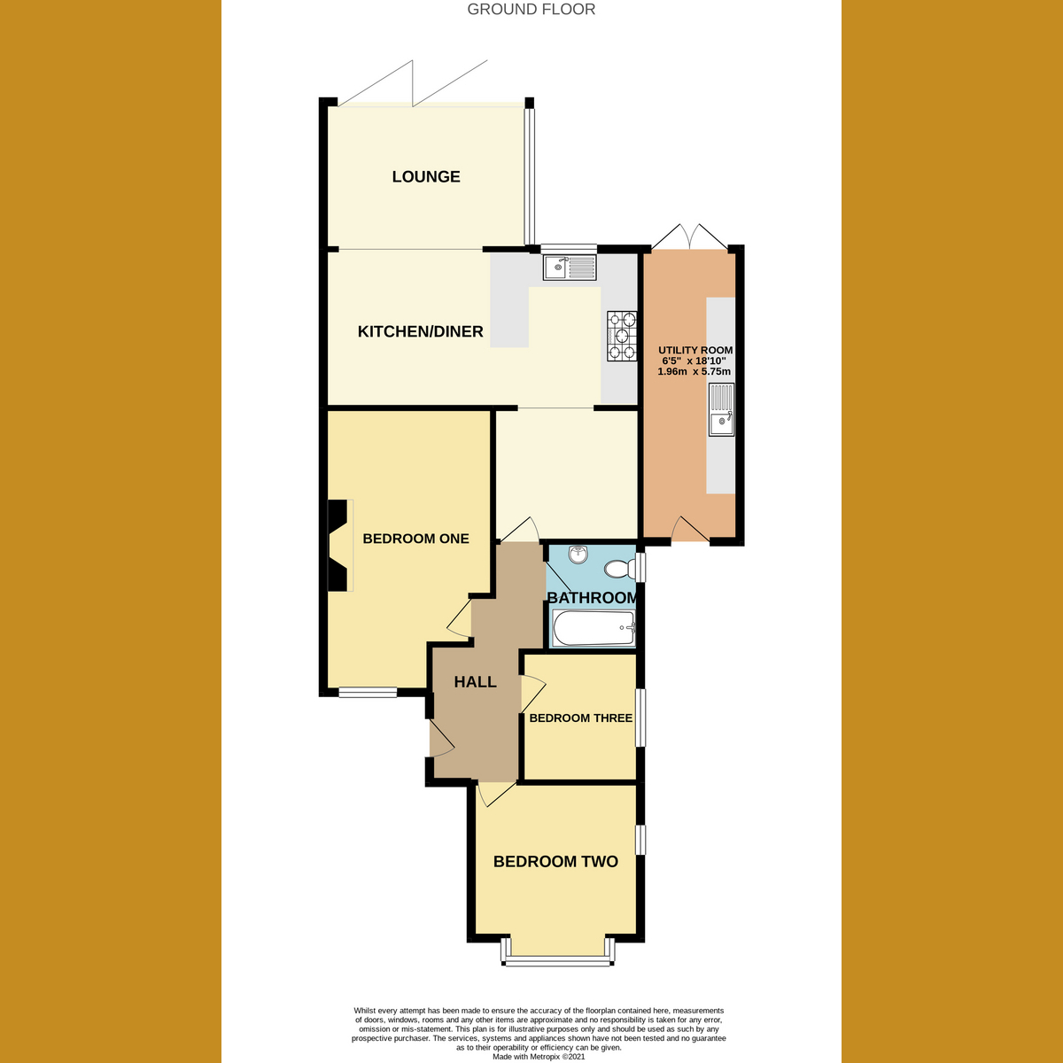 Floorplan 1 of The Ryde, Leigh-on-sea, SS9