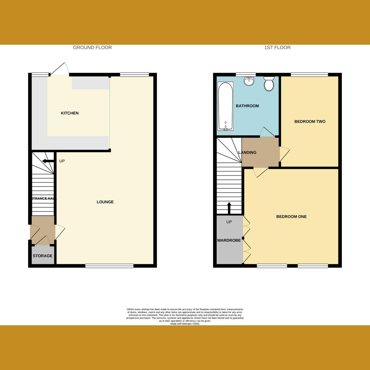 Floorplan 1 of Dorothy Gardens, Benfleet, SS7