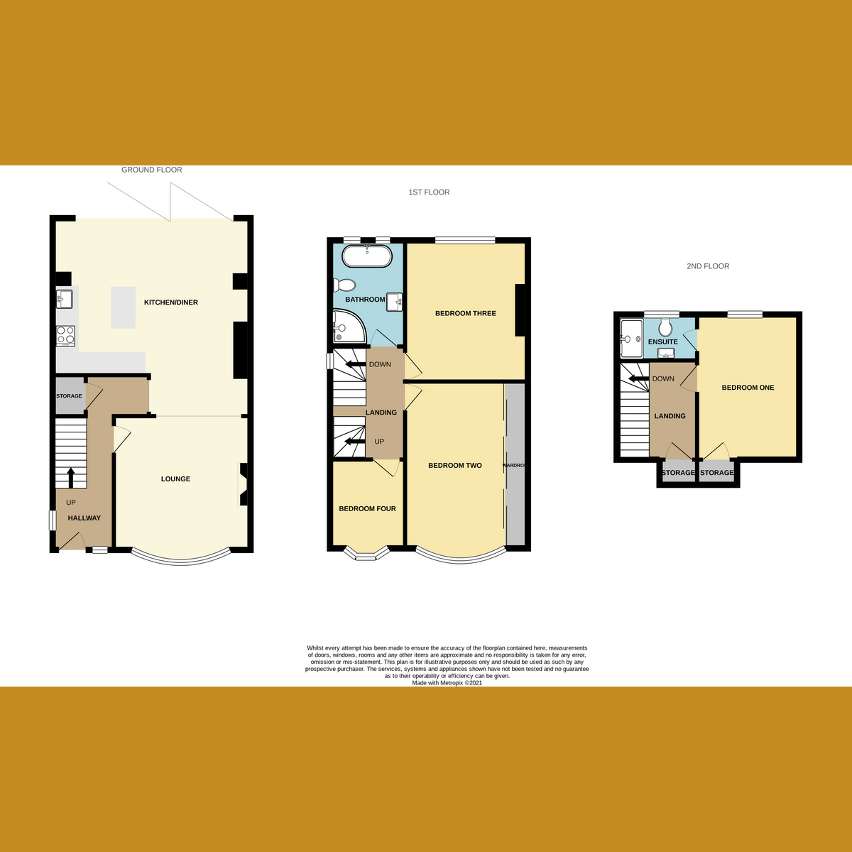Floorplan 1 of Percy Road, Leigh-on-Sea, SS9