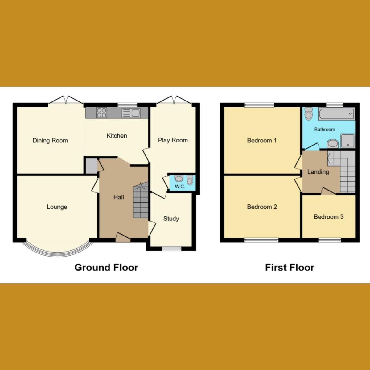 Floorplan 1 of Langford Crescent, Benfleet, SS7