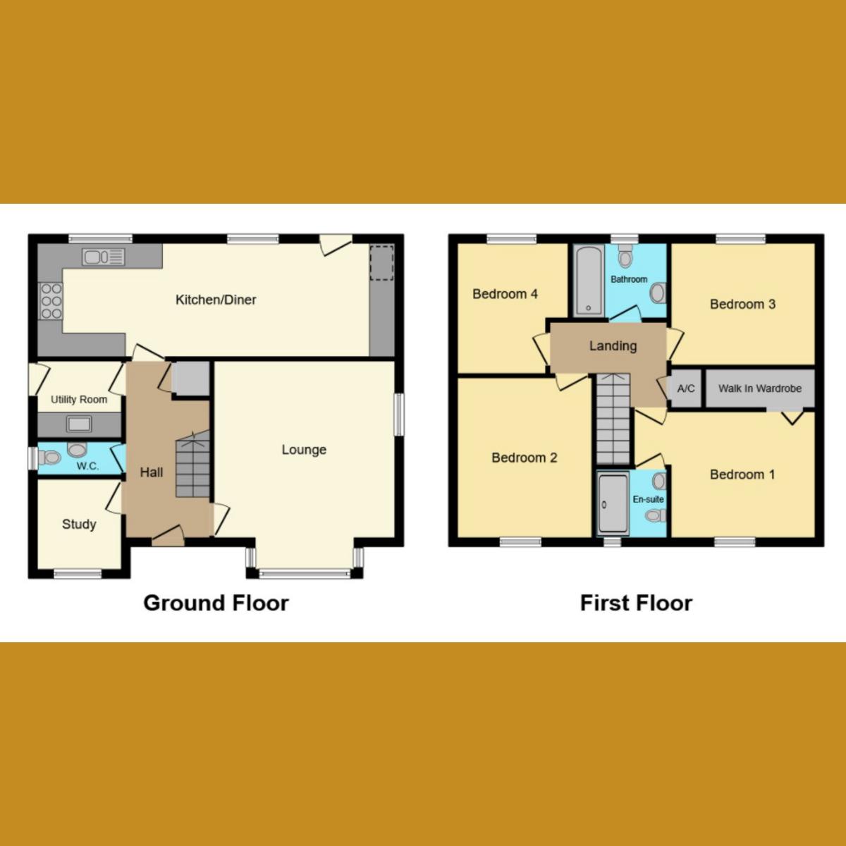 Floorplan 1 of Caversham Park Avenue, Rayleigh, SS6