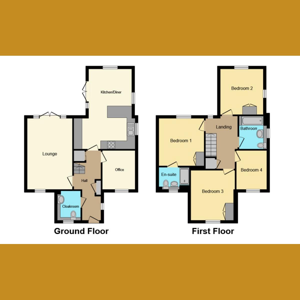 Floorplan 1 of James Drive, Rochford, SS4