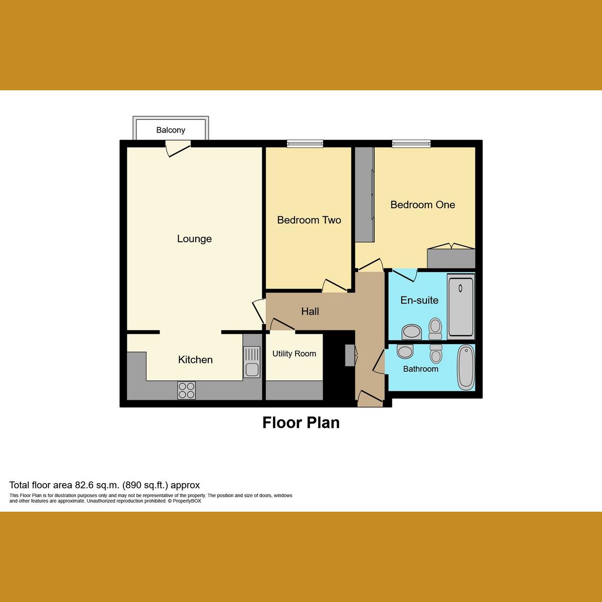 Floorplan 1 of Victoria Avenue, Southend-on-Sea, SS2