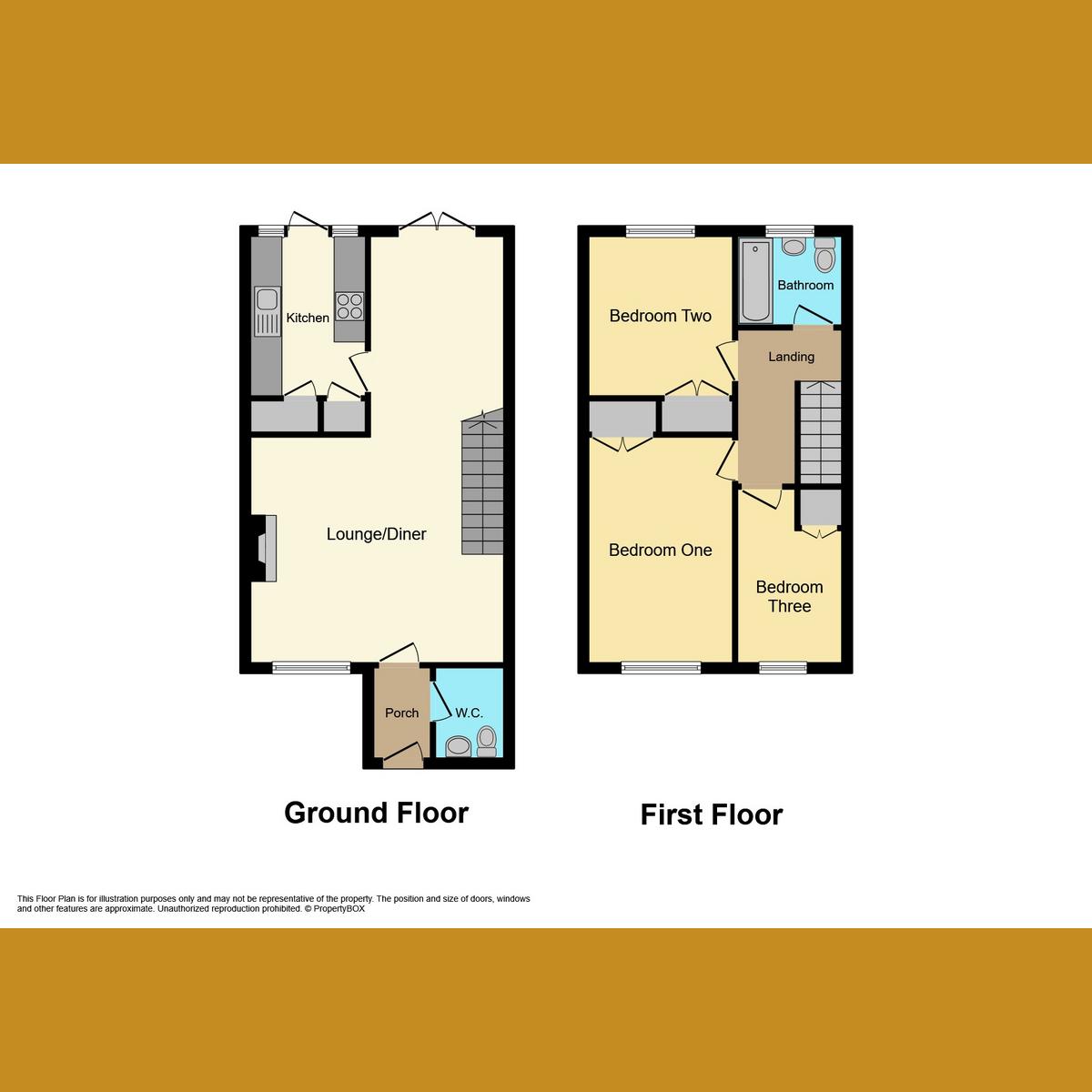 Floorplan 1 of Weir Farm Road, Essex, SS6