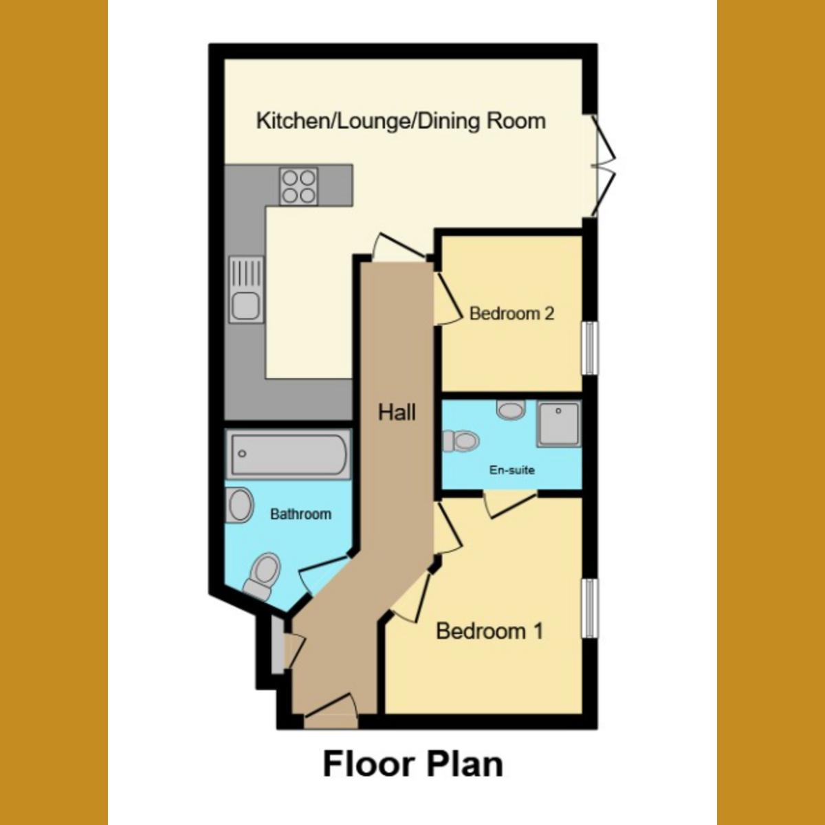 Floorplan 1 of Barnstaple Road, Southend-on-sea, SS1