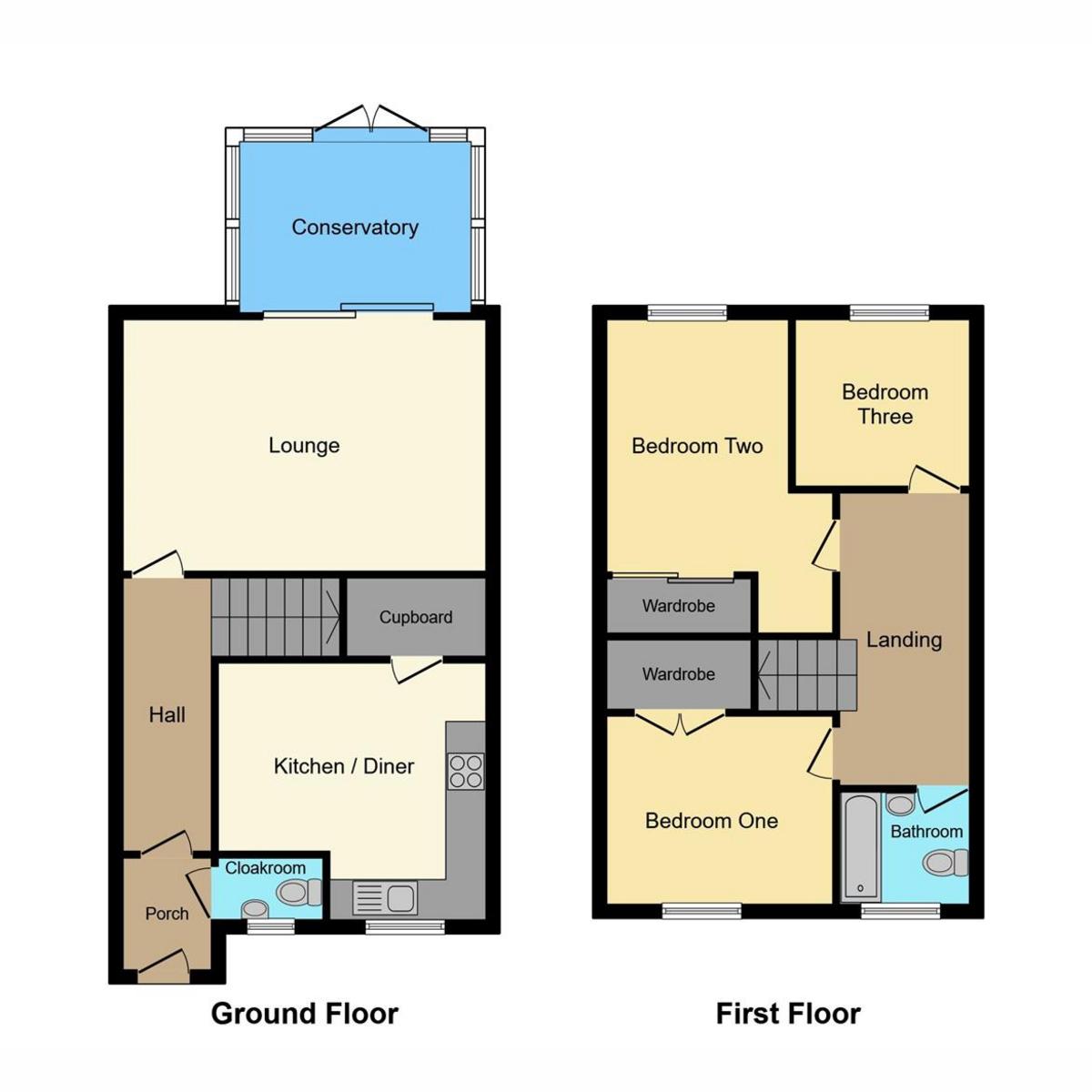 Floorplan 1 of Curling Tye, Basildon, SS14