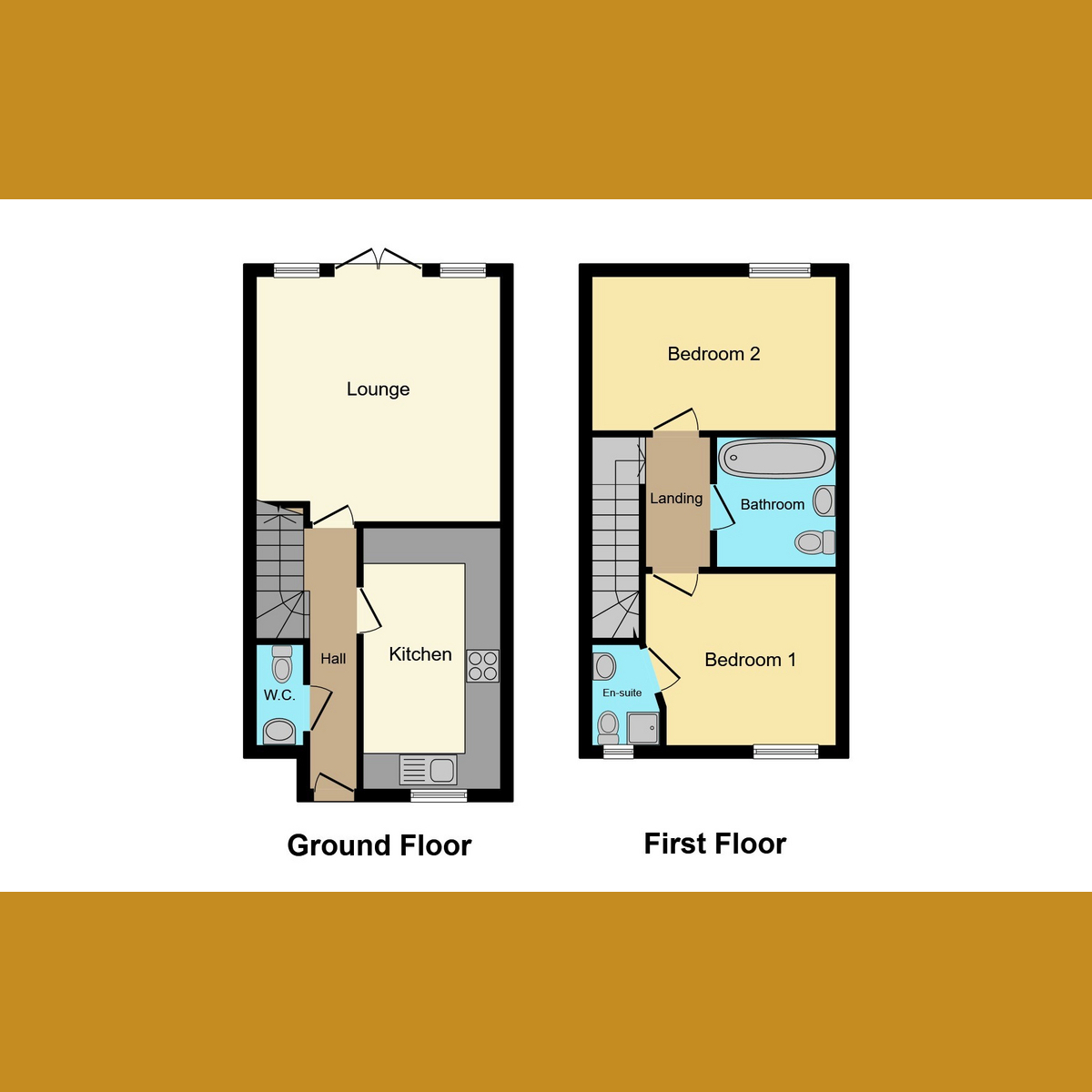 Floorplan 1 of Masters Crescent, Basildon, SS15