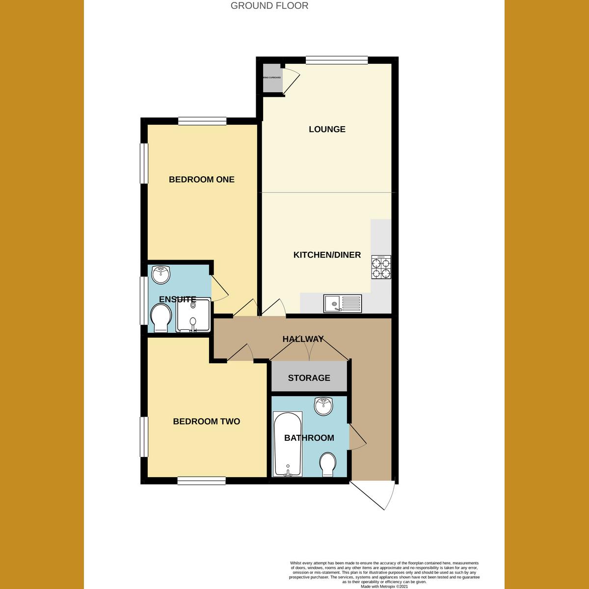 Floorplan 1 of Catherine Road, Benfleet, SS7