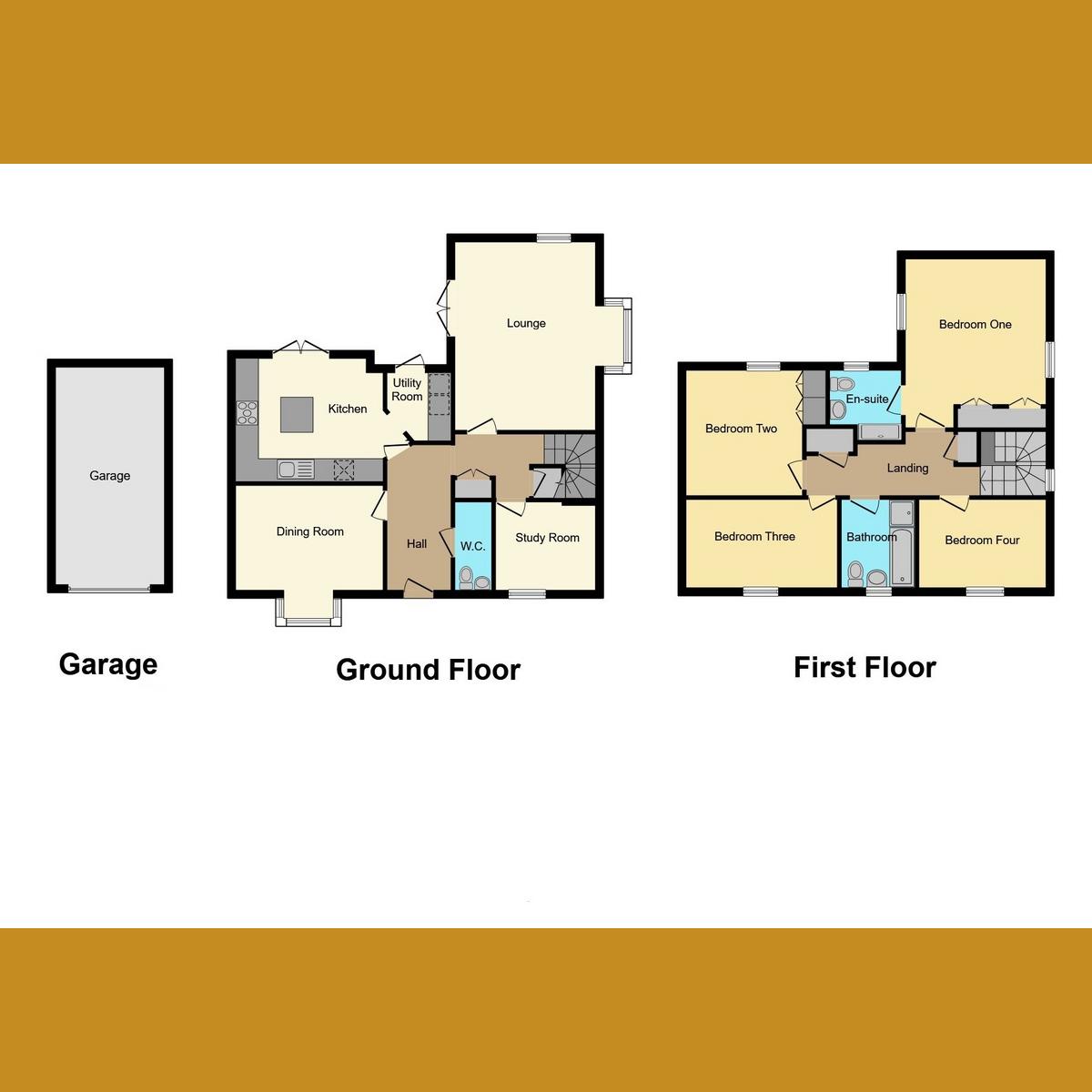 Floorplan 1 of Thorpe Road, Hockley, SS5