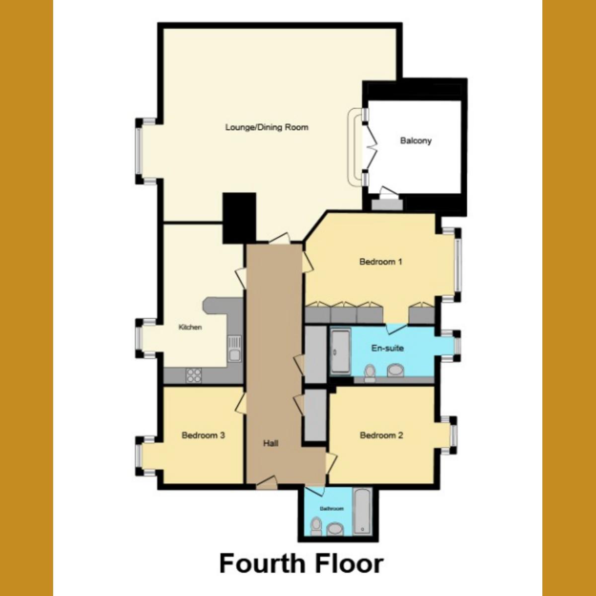 Floorplan 1 of Southside, Leigh-on-Sea, SS9