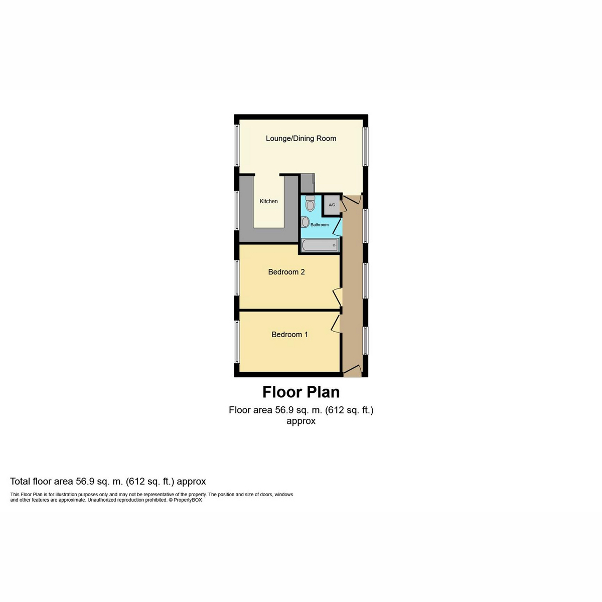 Floorplan 1 of Tudor Court, Basildon, SS15