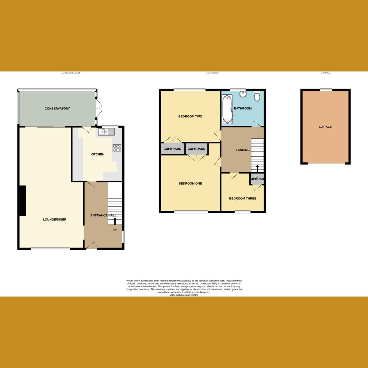 Floorplan 1 of Swallow Dale, Basildon, SS16