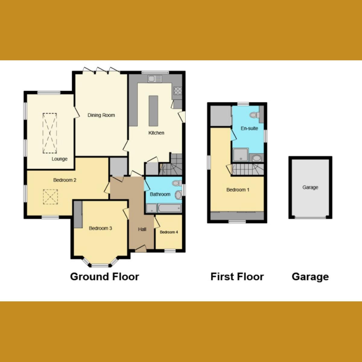 Floorplan 1 of Winsford Gardens, Westcliff-on-sea, SS0