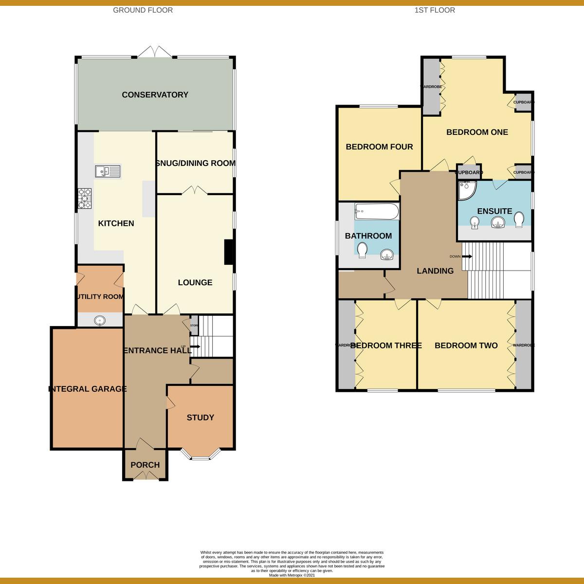 Floorplan 1 of Chesterfield Avenue, Benfleet, SS7
