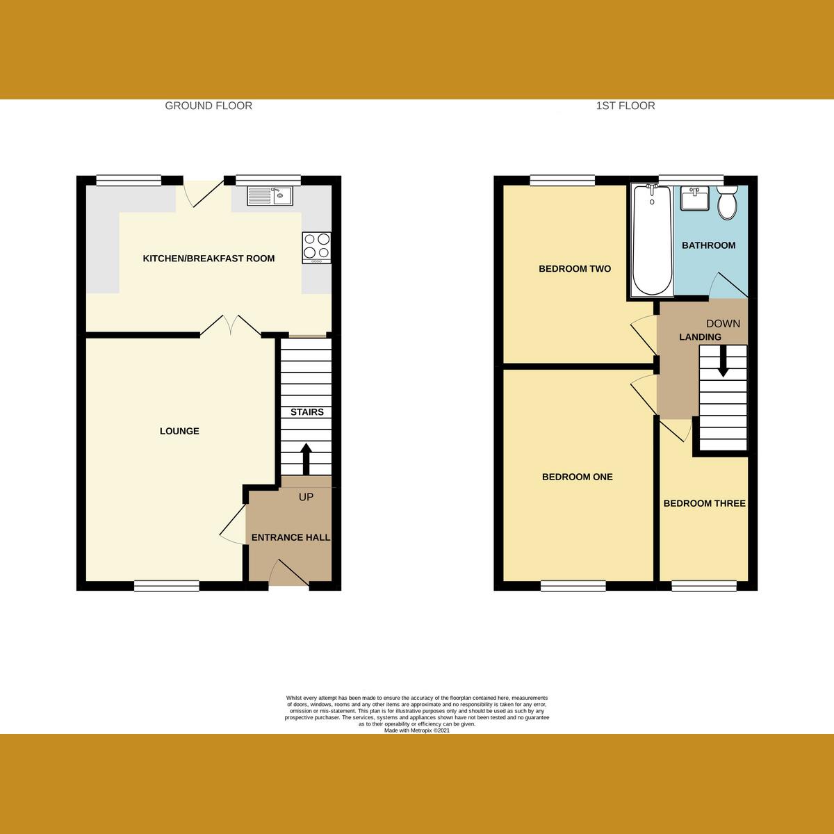 Floorplan 1 of Pendlestone, Benfleet, SS7