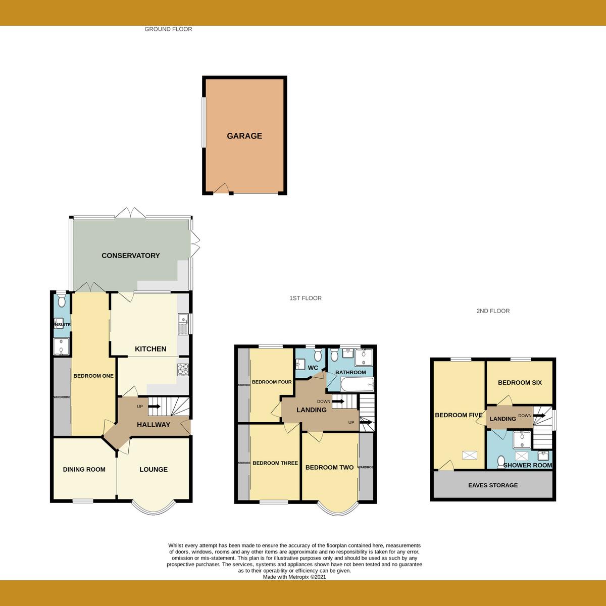 Floorplan 1 of Kensington Road, Southend-on-sea, SS1