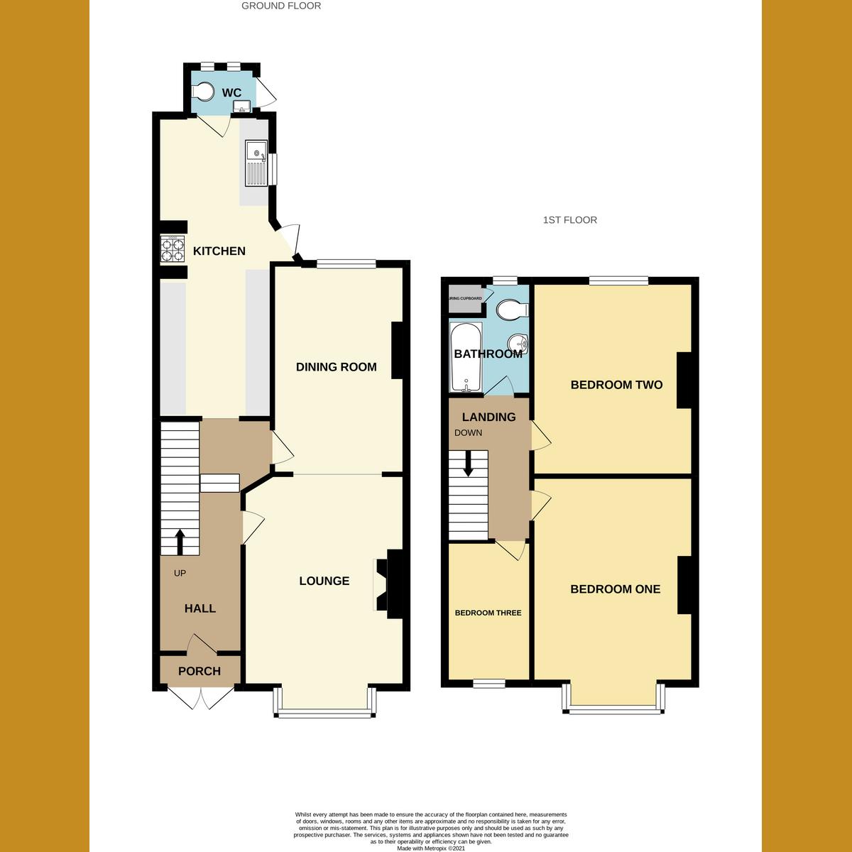 Floorplan 1 of Beedell Avenue, Westcliff-on-sea, SS0