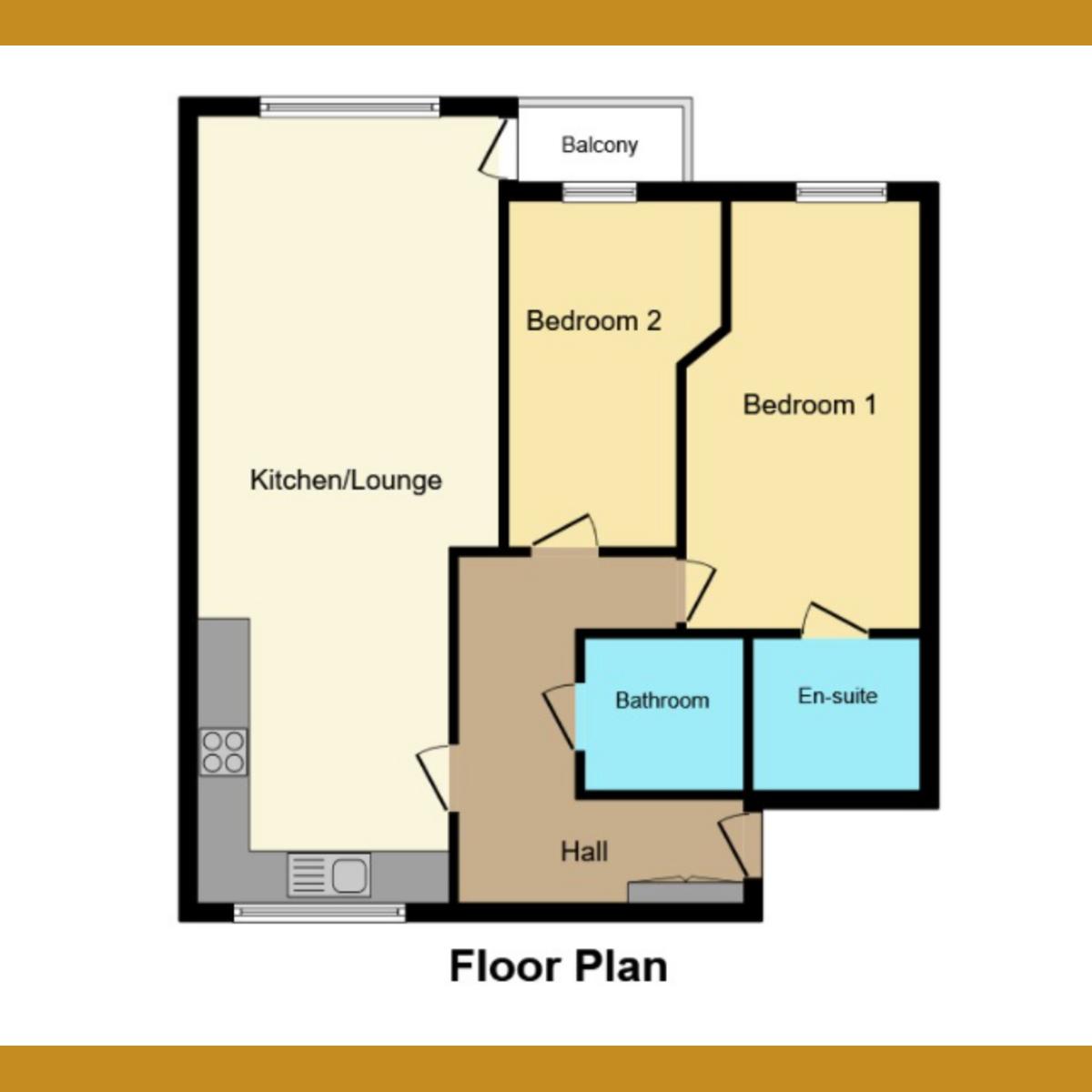 Floorplan 1 of London Road, Essex, SS1