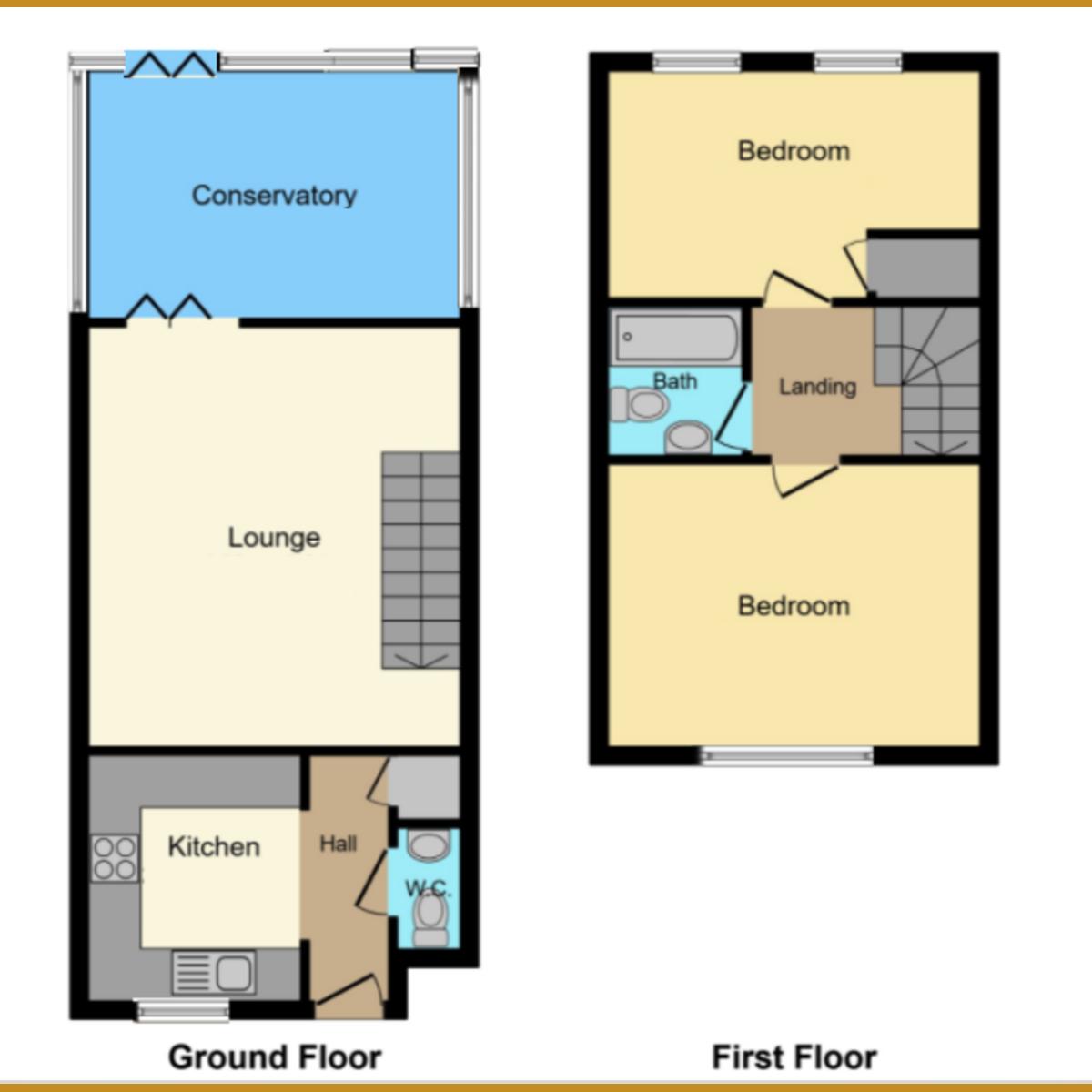 Floorplan 1 of Oak Walk, Leigh-on-sea, SS9