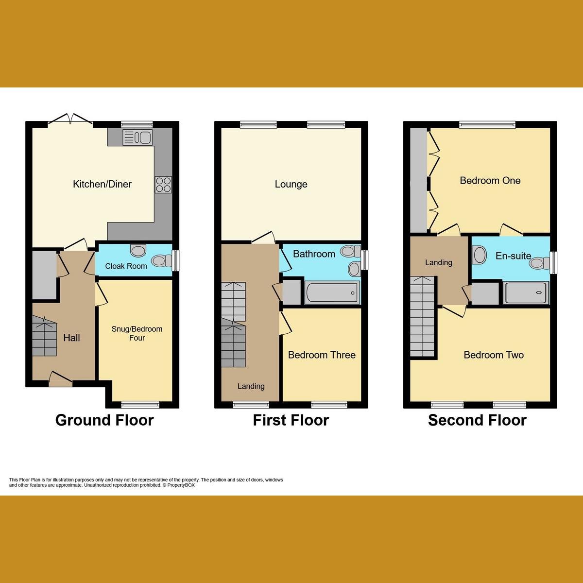 Floorplan 1 of Downhall Park Way, Rayleigh, SS6