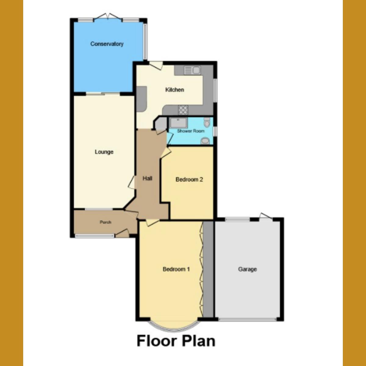 Floorplan 1 of Oakengrange Drive, Southend on sea, SS2