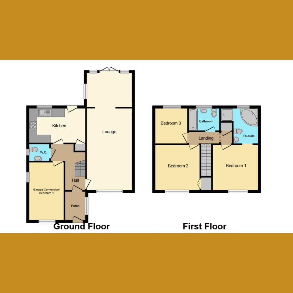 Floorplan 2 of Bishopsteignton Shoeburyness, Southend-on-sea, SS3