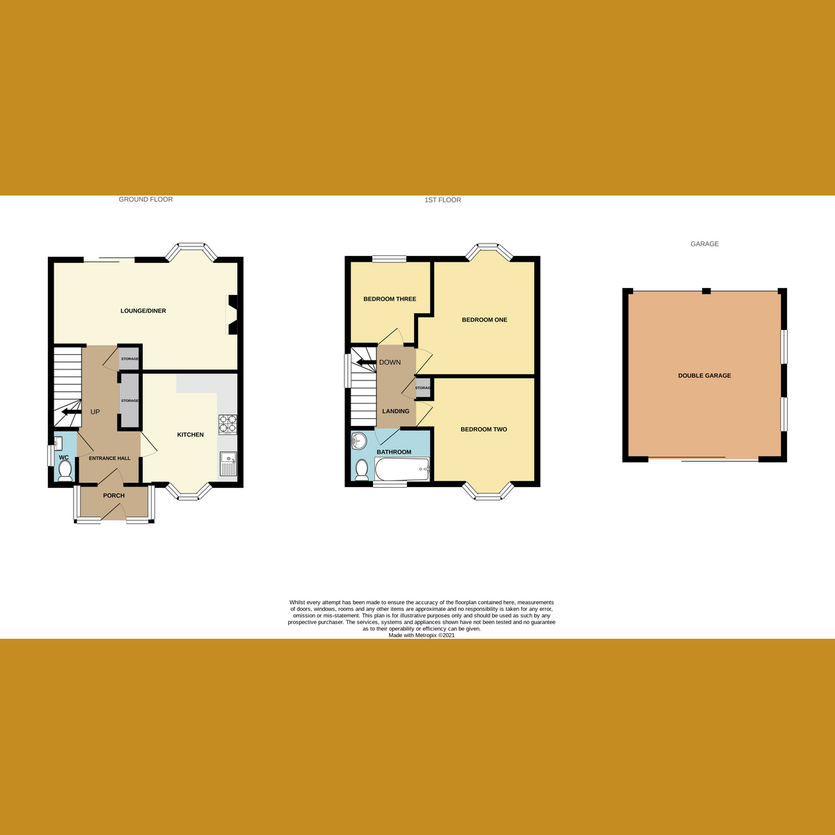 Floorplan 1 of Overton Road, Benfleet, SS7