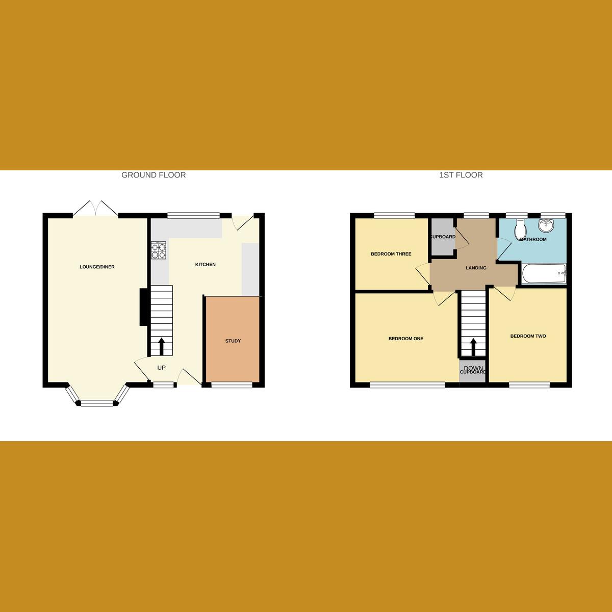 Floorplan 1 of Boult Road, Basildon, SS15