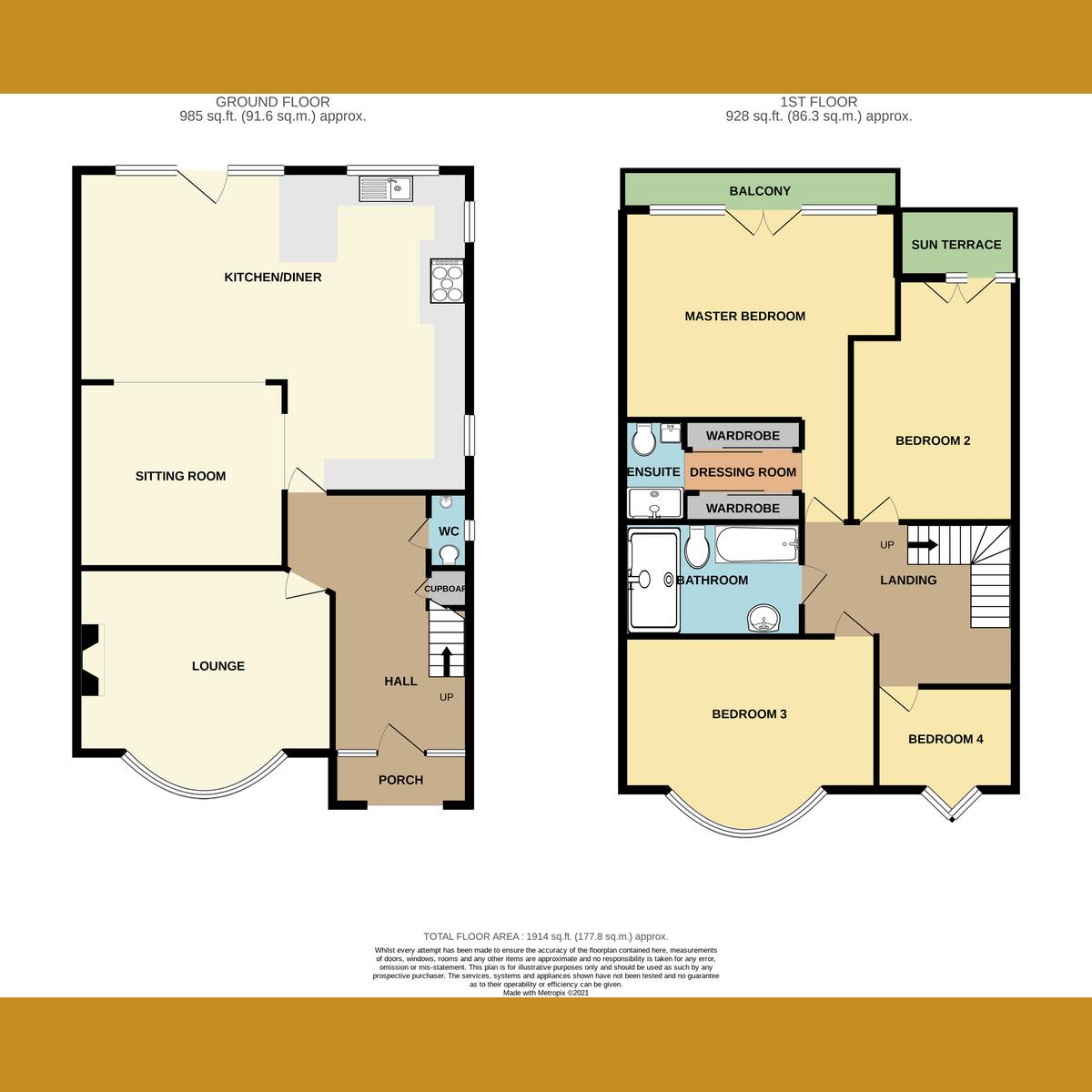 Floorplan 1 of Eastwood Road, Leigh-on-Sea, SS9