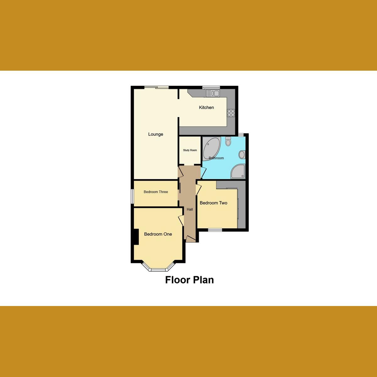 Floorplan 1 of Park Avenue, Leigh-on-sea, SS9